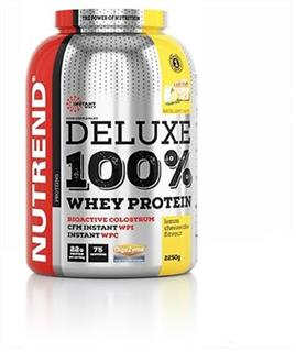 Nutrend DELUXE 100% WHEY, 2250g, citronový cheesecake