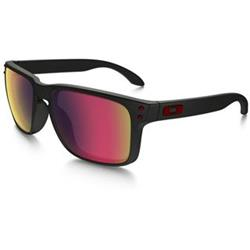 OAKLEY Holbrook Black matt - Positive Red Iridium