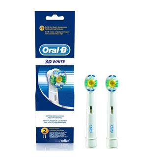 Oral-B 3D White Replacement Brush Heads 2 Pack