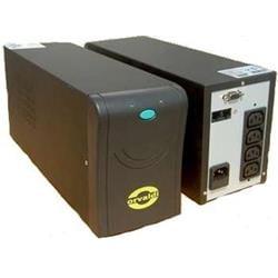 ORVALDI UPS 1000 BLACK, 4x IEC320, ochrana RJ45, CD se SW