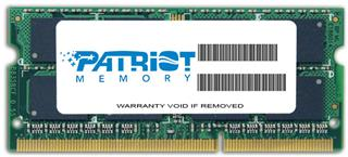 Patriot Signature DDR3 4GB 1333MHz Ultrabook SODIMM