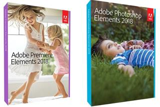 Photoshop Elements + Premiere Elements 2018 WIN CZ Box (65281768)