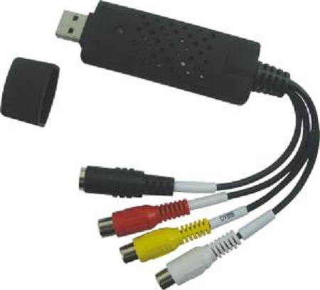 PremiumCord USB 2.0 Video/audio grabber pro zacyhtávání záznamu,30fps, vč. software