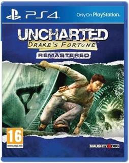 PS4 - Uncharted: Drake's Fortune Remastered