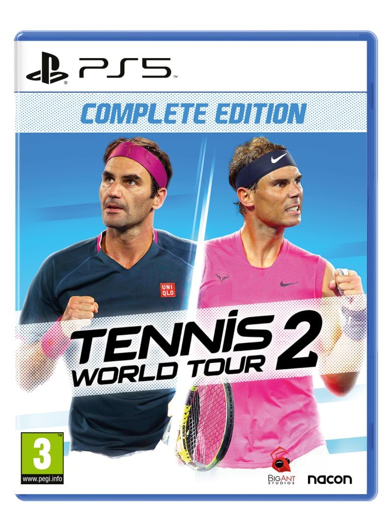 PS5 - Tennis World Tour 2 Complete Edition