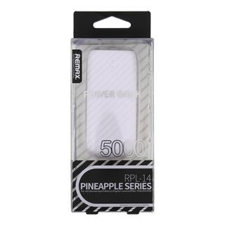 Remax RPL-14 Pineapple PowerBank 5000mAh bílá