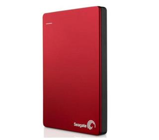 Seagate Backup Plus Slim 1TB červený + 200GB na OneDrive