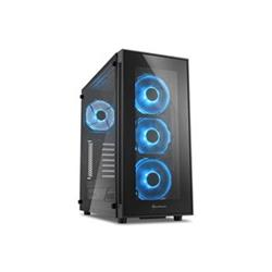 SHARKOON TG5 blue ATX MidiTower modrá