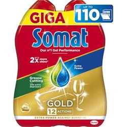 Somat gel do myčky Gold Anti-Grease 2x990ml (110 dávek)