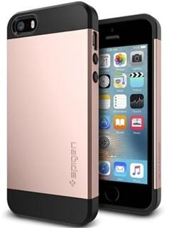 SPIGEN Slim Armor, rose gold - iPhone SE/5s/5