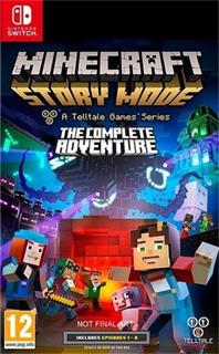 Switch - Minecraft Story Mode: The Complete Adventure