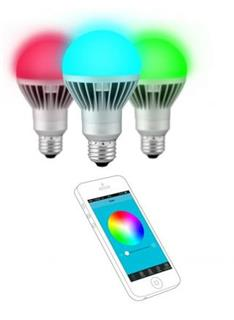 TECHNAXX LED RGB App E27 7W s Bluetooth