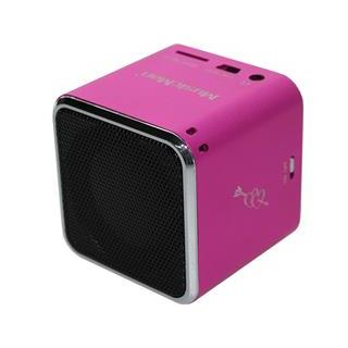 TECHNAXX MusicMan Mini Soundstation růžový