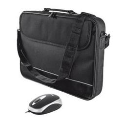 """Trust 15-16"""" Notebook Bag with mouse"""
