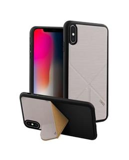 Uniq Hybrid iPhone XS MAX Transforma Ligne - Ash