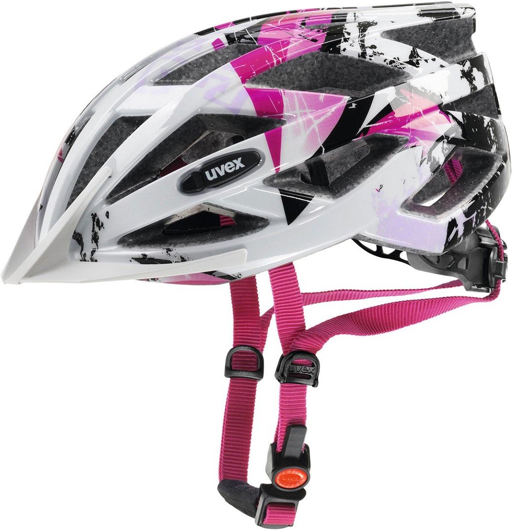 UVEX Air wing white pink (52-57cm)