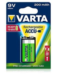 VARTA 9V 200 mAh Ready 2 Use