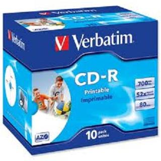 Verbatim CD-R DLP PRINTABLE 700MB/80MIN 52x 10-PACK