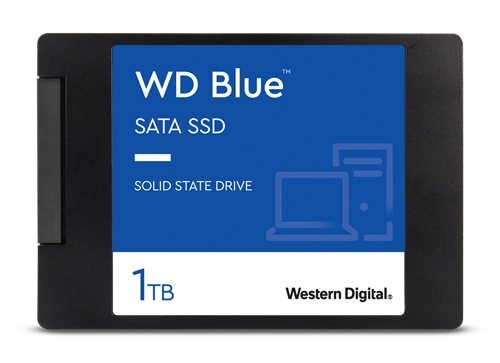 WD Blue 3D NAND SSD disk 1TB