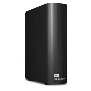 "WD Elements Desktop 3TB Ext, 3,5"" USB3,0, Black"