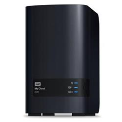 WD My CLOUD EX 2 ultra, 8TB (2x4TB)