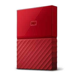 "WD My Passport 1TB 2,5"" USB3.0, RED"