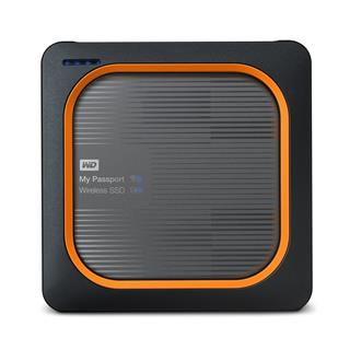 WD My Passport Wireless SSD 500GB Ext. USB3.0, SD Card