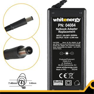 Whitenergy zdroj 19.5V 3.34A 65W, konektor 7.4x5.0mm + pin