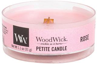 WoodWick Petite Candle Rose 31g