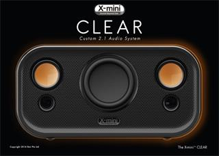 X-mini ™ CLEAR – BT Bluetooth 2.1 Audio system